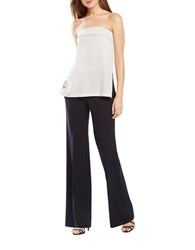 Bcbgmaxazria Brandon Pinstriped Flared Trousers Blue