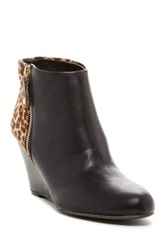Report Gabrela Wedge Bootie Black