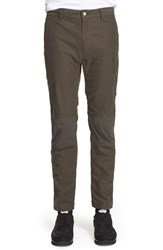 Men's White Mountaineering Stretch Inset Woven Pants
