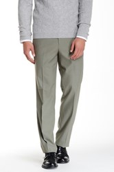 Tailorbyrd Flat Front Pant 30 34' Inseam Green
