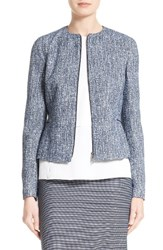 Boss Women's Karonita Collarless Tweed Jacket