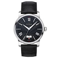 Montblanc 115122 Men's 4810 Automatic Date Alligator Leather Strap Watch Black