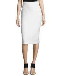 Elie Tahari Harla Midi Pencil Skirt