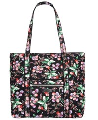 Vera Bradley Iconic Large Tote Winter Berry