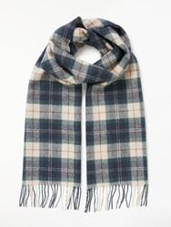 Barbour Land Rover Defender Lambswool Cashmere Tartan Scarf Multi