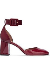 Red Valentino Patent Leather Pumps Claret