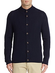 Saks Fifth Avenue Ribbed Button Front Cardigan