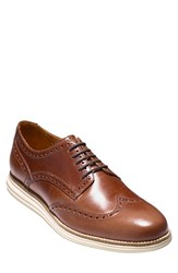 Cole Haan Men's 'Original Grand' Wingtip Chestnut