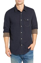 Jeremiah Men's Chase Melange Sport Shirt Victoria Heather