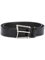 D'amico Curved Buckle Belt Black