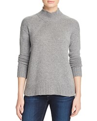 Bloomingdale's C By Cropped Raglan Cashmere Sweater Slate