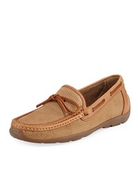 Tommy Bahama Oden Perforated Casual Loafer Brown