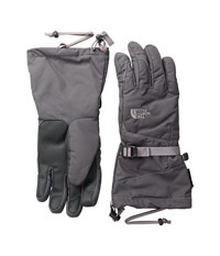 The North Face Revelstoke Etip Gloves Rabbit Grey Quail Grey Extreme Cold Weather Gloves Gray