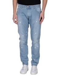 Entre Amis Men Denim Pants Blue