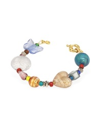Antica Murrina Veneziana Fanny Multicolor Murano Glass Bead Bracelet