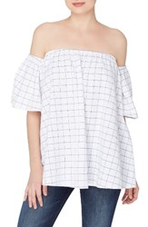 Catherine Malandrino Women's Beulah Off The Shoulder Blouse