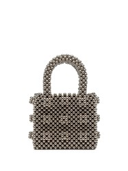 Shrimps Antonia Beaded Bag Metallic