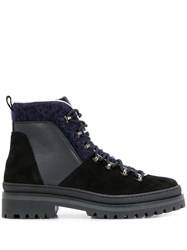 Tommy Hilfiger Cosy Lined Outdoor Boots Black