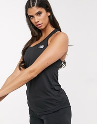 New Balance Running Accelerate Tank In Black