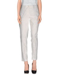 Pianurastudio Casual Pants White
