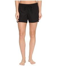 Hurley One Only Solid 5 Boardshorts Black Women's Swimwear