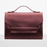 French Connection Vanessa Cross Body Bag Burgundy