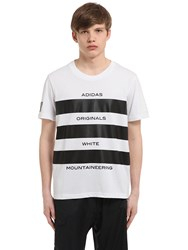 Adidas Originals By White Mountaineering Aomw Print T Shirt