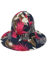 Engineered Garments Printed Dome Hat Blue