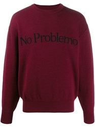 Aries No Problemo Jumper Red