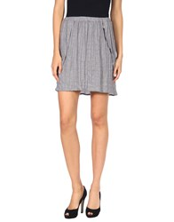 Girl By Band Of Outsiders Knee Length Skirts Grey