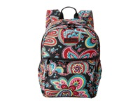 Vera Bradley Lighten Up Just Right Backpack Parisian Paisley Backpack Bags Brown