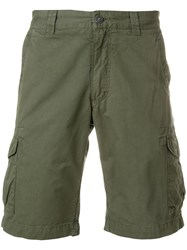 Woolrich Fitted Chino Shorts Green