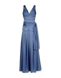 Fayazi Dresses Long Dresses Women Pastel Blue