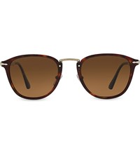 Persol Po3165s Square Frame Sunglasses Brown