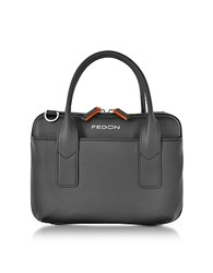 Giorgio Fedon 1919 Bubble Double Handles Mini Bag W Shoulder Strap