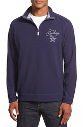 Tommy Bahama 'Ben And Terry Dallas Cowboys' Half Zip Pullover Sweatshirt Big And Tall