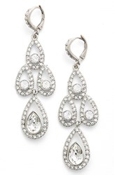 Women's Givenchy Crystal Chandelier Drop Earrings