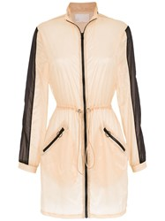 Spacenk Nk Sheer Parka Nude And Neutrals