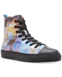 Katy Perry Tams Galaxy High Top Sneakers Women's Shoes Purple Combo