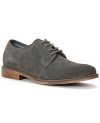Calvin Klein Jeans Oran Suede Oxfords Men's Shoes Dark Grey