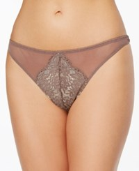 B.Tempt'd By Wacoal Ciao Bella Mesh Lace Thong 976144