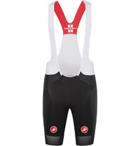 Castelli Free Aero Race Vortex And Mesh Bib Shorts Black