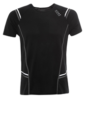Gore Running Wear Mythos 6.0 Sports Shirt Black Graphite Grey