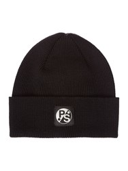 Paul Smith London Beanie Hat Black