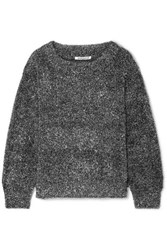 Georgia Alice Tinsel Lurex Sweater Silver