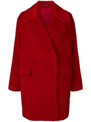Tagliatore Astrid Coat Red