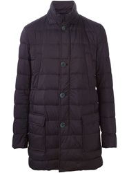 Herno 'Chaleco' Padded Coat Blue