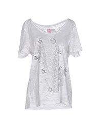 E.Vil Topwear T Shirts Women White