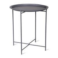 Garden Trading Rive Droite Bistro Tray Table Charcoal