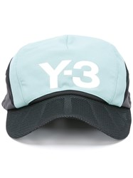 Y 3 Logo Baseball Hat Black